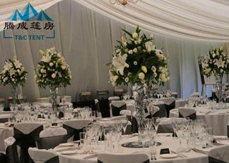 Long Life Span Outdoor Wedding Reception Tent For Party Banquet With Air  Condition