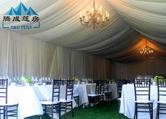 20 * 30M Wedding Event Tents Clear Roof With Hard Pressed Extruded Aluminum Alloy