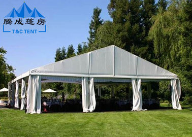 PVC Rooftop Waterproof Canopy Tent With Sandwich Panel Wall / Electric Shutter Door
