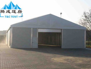 China Aluminum Frame Large Warehouse Tent Waterproof With Storage Hall Space supplier