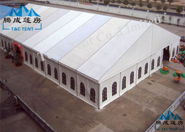 Outside Rot Proof Large Party Tents , Colorful Cover Church Tents For Donation