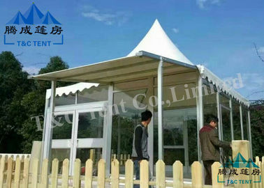 Elegant Bell Tent Camping Sound Insulation With Aluminum Alloy Structure