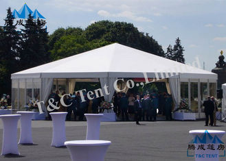 UV Protected Bell Tent Party Events , Modern Style Enclosed Party Tent