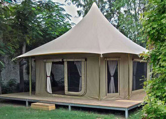 Large Luxury Glamping Safari Hotel Bell Tent 1 Years Warranty