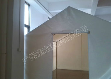 3x6m White Pvc-Coated Temporary Tents With Strong Poles For Event / Parking / Large Storage