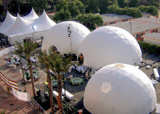 Big Geodesic Dome Tent For Events Wedding Party Advertising Big Dome Tent , Large Event Tents