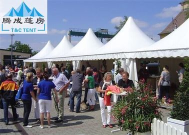 Commercial PVC Cloth Proof Marquee Party Tent 6x6M UV Resistant Waterproof