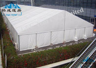 China Clear Span Outside Event Tents , Easy Dismantled Church Tents For Donation company