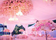 Big Wedding Party Tent , Flame Redartant UV-resistant PVC Event Tent