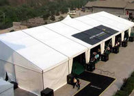 Customized Big Outside Event Tents PVC Structure Exhibition Tent For Canton Fair