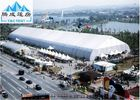 Galvanized Steel 30x50m Sporting Event Tents , White PVC Roof Aluminum Marquee