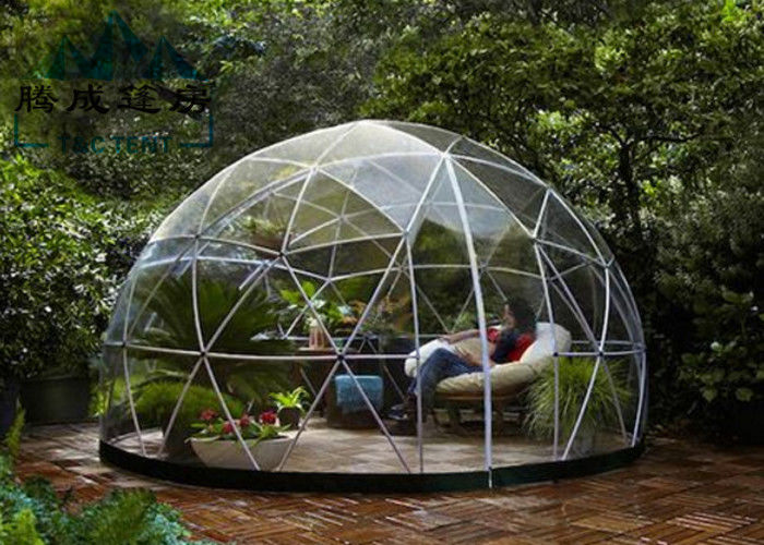 Light Frame Steel Structure Portable Dome Tent Dome