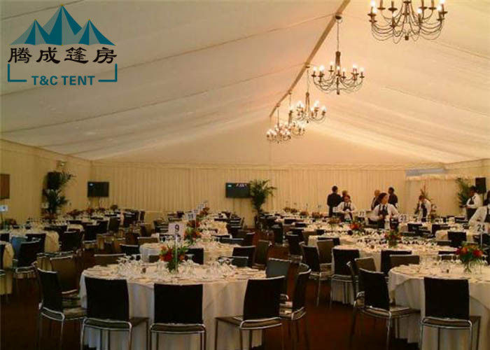 20m Width Fire Retardant A Shaped White Wedding Event Tents