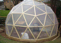 Portable Planetarium Projector Geodesic Dome Shelter With Steel